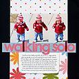 Walking solo