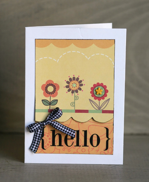 04.22.10 - hello card write click scrapbook