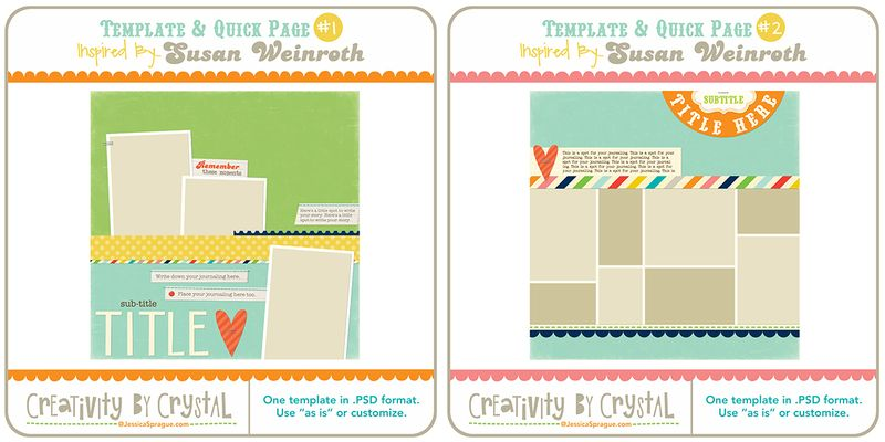 Creativity by crystal week 1 templates