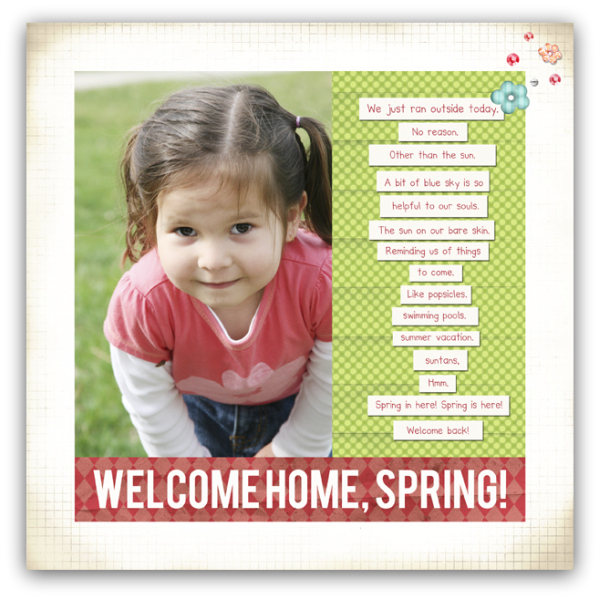 04.10.08 - 2388 welcome home spring write click scrapbook