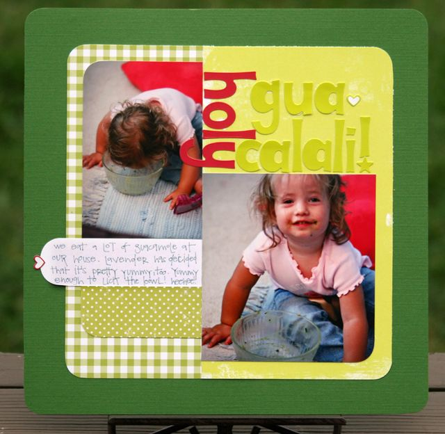 Holy guacalali write click scrapbook