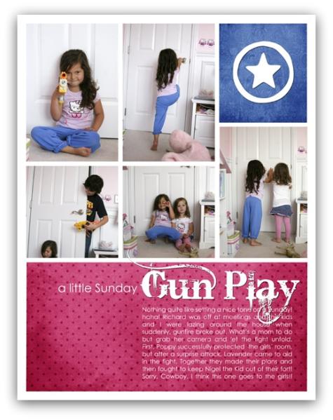 a little sunday gun play