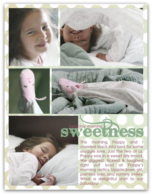 saturday morning sweetness