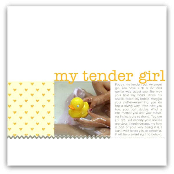 tender girl